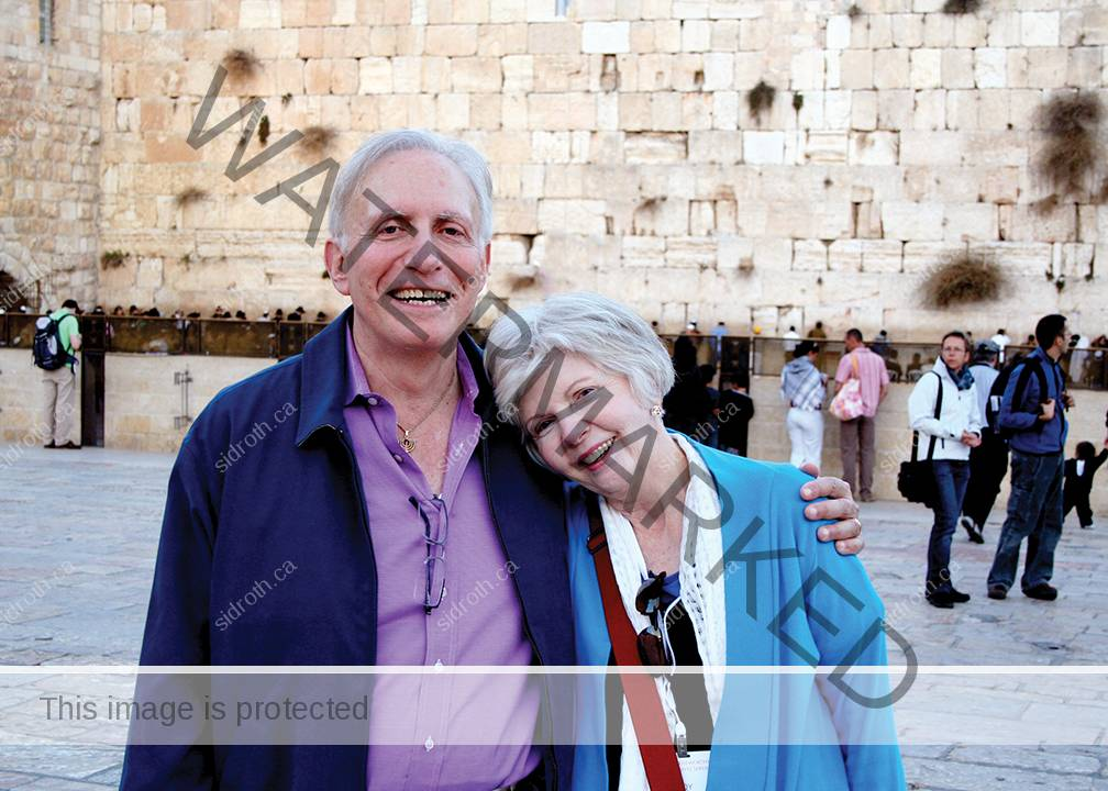 Sid Roth and his wife Joy