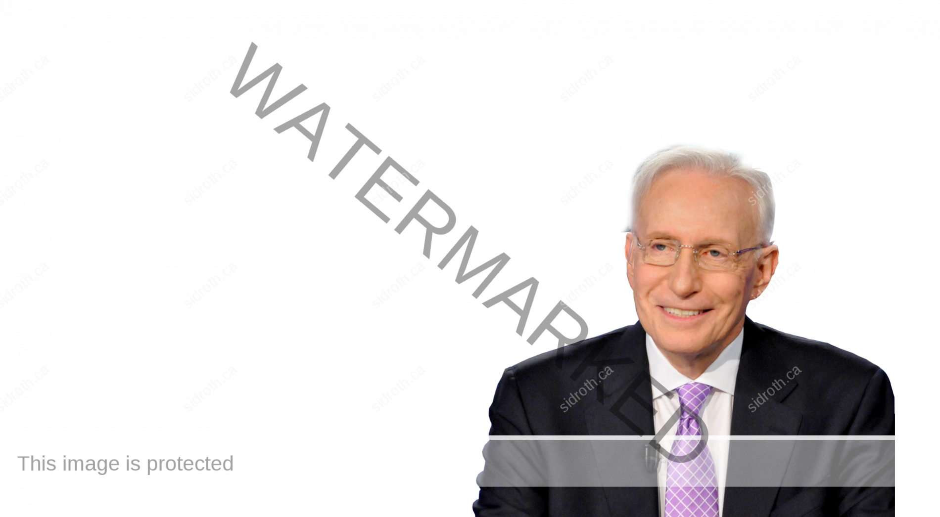 Sid Roth on transparent background
