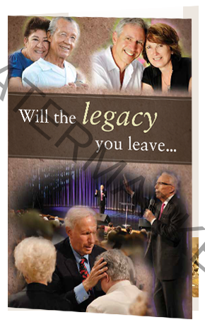 Planned giving by Sid Roth